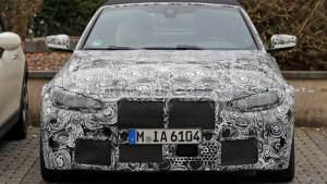 全新寶馬M4敞篷版諜照曝光,預計將于2020年推出