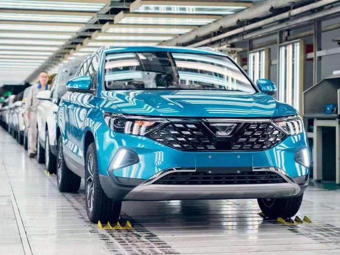 捷达VS7 SUV量产下线 即将上市/或11万元起售