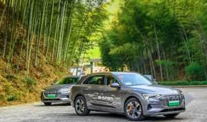 奧迪首款純電SUV,預售70萬起,與特斯拉有哪些不同?