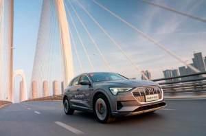 試駕奧迪 e-tron 走性能路線的豪華純電動SUV