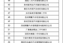 厦门年会 | 2019中国汽车流通行业二手车经销商百强企业发布
