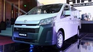 全新平臺打造 新一代豐田HIACE正式發布