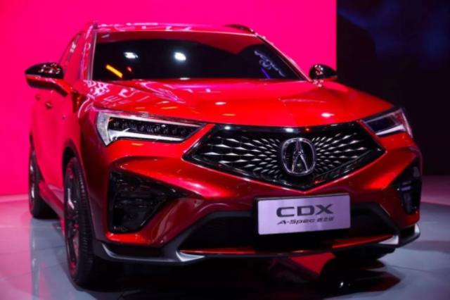 广汽讴歌带来了一台叫CDX A-SPEC的车,什么来头?