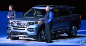 外观更加大气 全新一代福特探险者首发