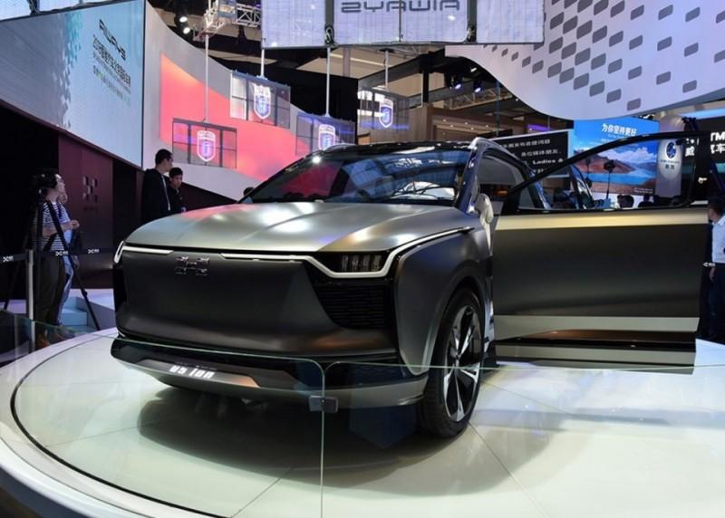 看到蔚来的影子,国产造车新势力新车,续航超500km