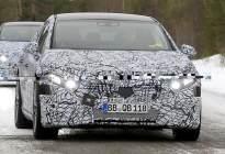与Model S直面竞争,奔驰EQS冬季测试谍照曝光
