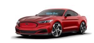 曝福特Mustang Mach-E Coupe假想圖