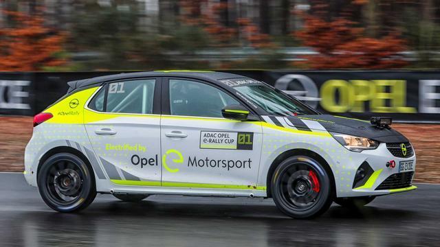 全球首款电动拉力赛车,欧宝Corsa-e值得期待吗?