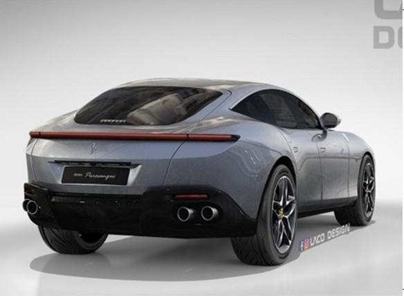 法拉利史上首款SUV渲染图曝光:售价或超300万元