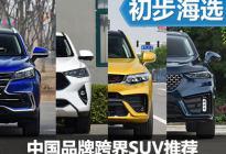 年轻就得有态度 中国品牌跨界SUV推荐