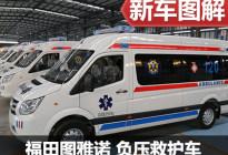山川异域 风月同天 拍图雅诺负压救护车