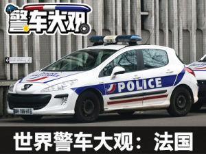 世界警車大觀:有實用更有專業的法國