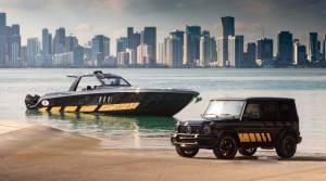 AMG  G63搭配快艇?   限量版车型官图发布