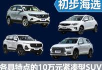 满足你的不同需求 四款中国品牌SUV海选