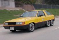 六个轮、还省油,80年代某发动机公司的PHEV车型
