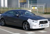 國外版還是大氣,新款奔馳E級轎跑諜照曝光