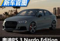 个性外观 奥迪RS 3 Nardo Edition官图