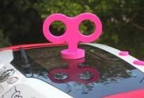 盘点那些让人哭笑不得的汽车装饰,个个都是奇葩!