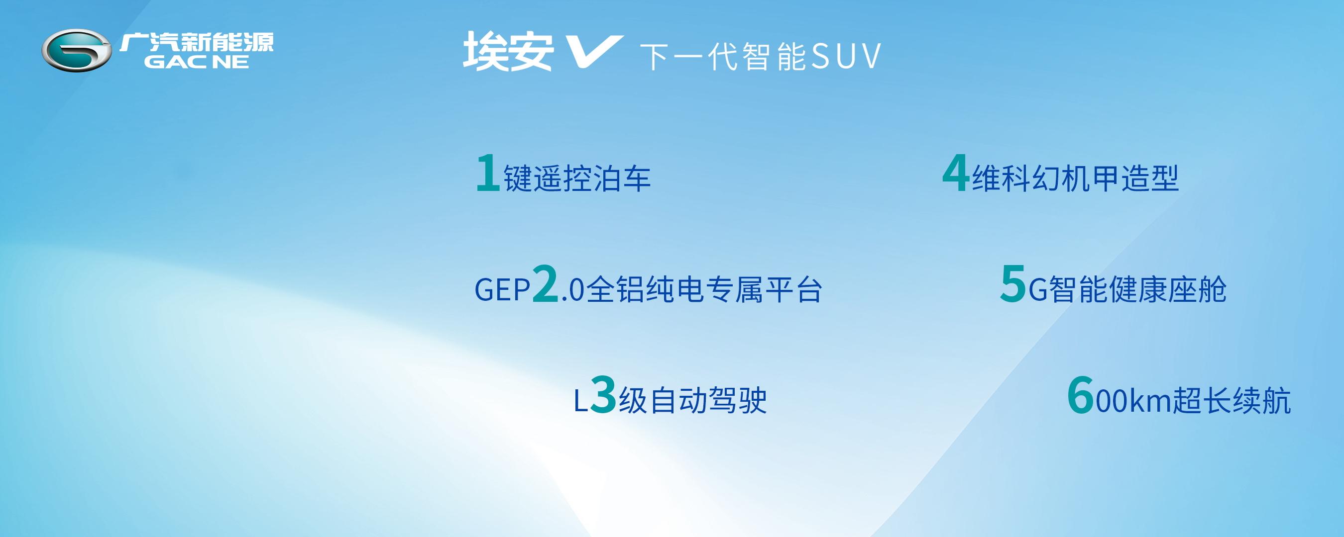 埃安V预售,5G+L3自动驾驶,抢占下一代智能SUV制高点(图7)