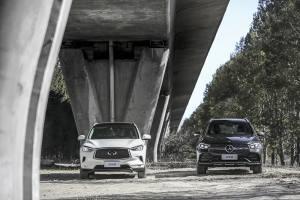 梅赛德斯-奔驰 长轴距GLC vs.英菲尼迪 QX50