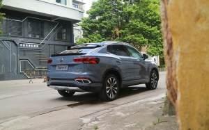 试驾探岳X 一款高颜值高品质的轿跑SUV
