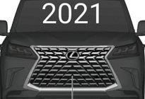 全新格栅设计 雷克萨斯新款LX570泄露