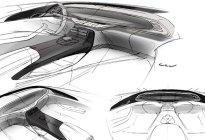 基于环抱式座舱打造 比亚迪秦PLUS内饰设计图曝光