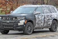 新增2.0T四缸发动机 全新Jeep大切诺基谍照曝光
