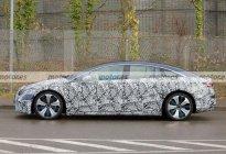 对标特斯拉Model S 奔驰EQS最新路试谍照曝光