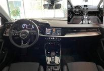 双屏座舱显科技 神仙组合内饰更带感 全新奥迪A3两厢实拍导购