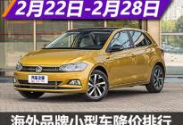 Polo降2.1万元 海外小型车降价排行