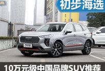 实惠又有劲 10万元级中国品牌SUV推荐