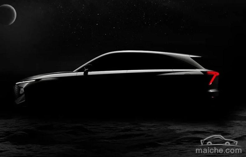 定位高于哈弗H6、搭载2.0T发动机 哈弗全新SUV预告图发布