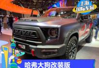 2021上海车展:哈弗大狗改装版亮相