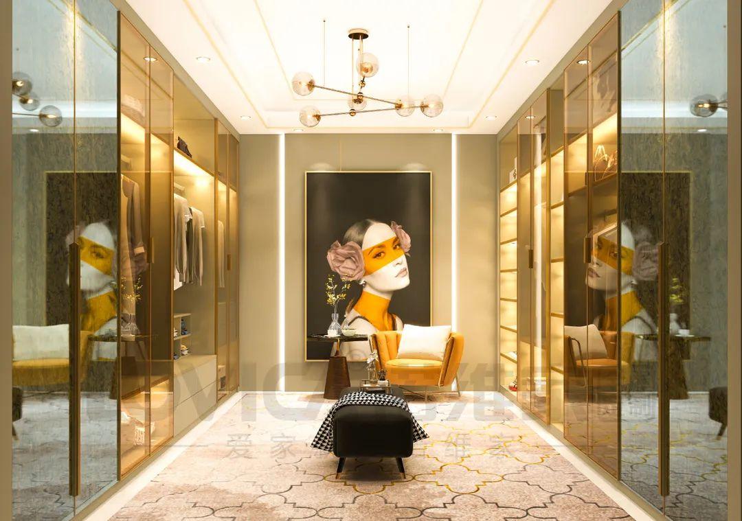 富达注册登录诺维家全屋定制:难以名状的惊艳:轻奢・金色琉璃系列