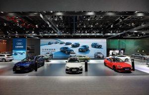 一汽-大众奥迪携21款重磅车型强势亮相2021长春车展