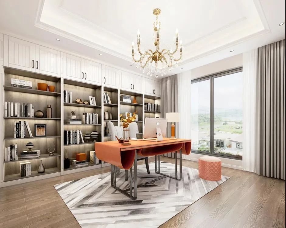 富达注册登录梵帝尼家居:这5种书房设计案例,有你喜欢的吗?