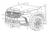 配六缸 更阳刚 马自达CX-50专利图曝光