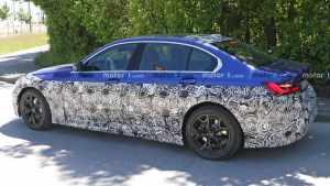 宝马将于2025年推出纯电版3系车型 采用全新专属平台研发